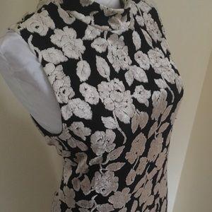 Elegant Burnout Velvet Vintage Maxi Dress